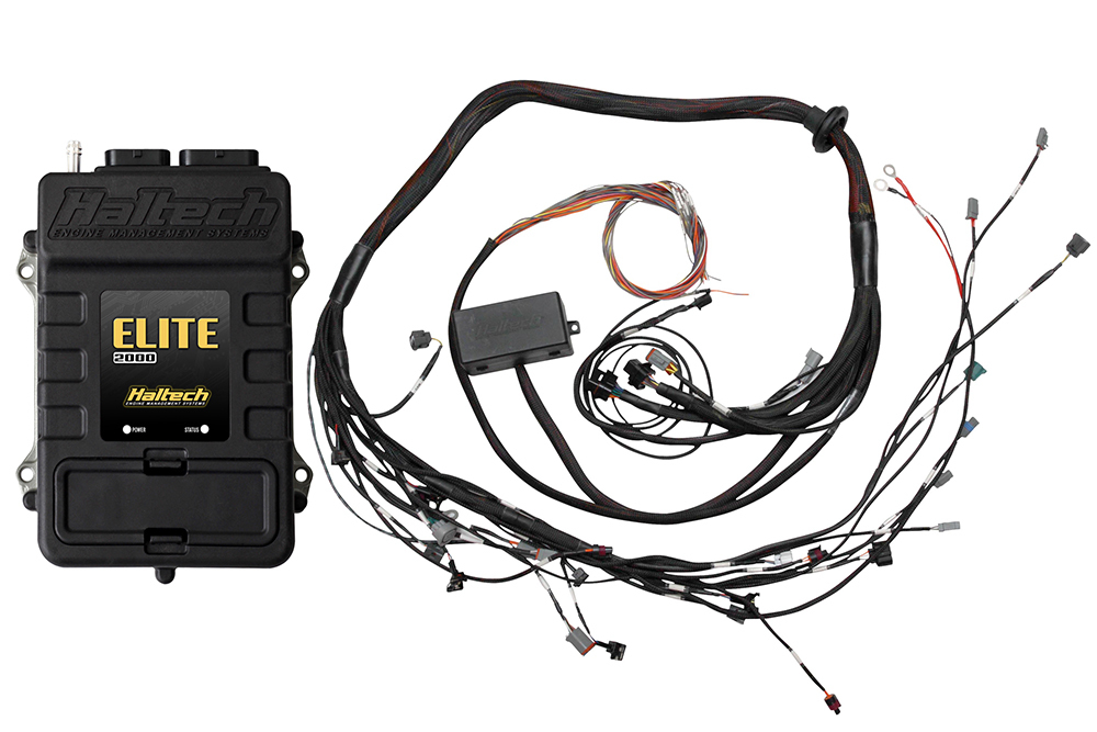 Haltech Elite 2000 With Terminated Engine Harness Kit