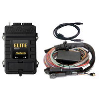 Haltech Elite 2000 ECU With 2.5m Premium Universal Wire-In Harness Kit