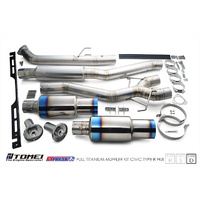 Tomei Expreme Ti Cat Exhaust - Honda Civic Type R FK8 Type D