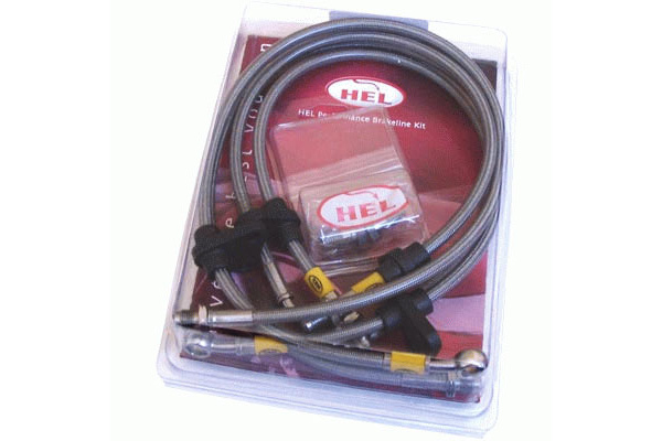 HEL Braided Brake Lines - Nissan R35 GT-R